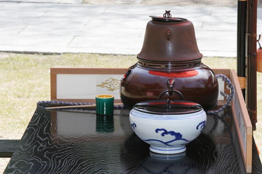 春の茶会(野点席)